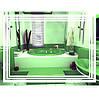 Светодиодное зеркало с сенсорной кнопкой, размер 800х600
