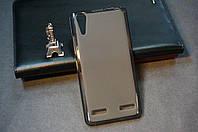 Чехол бампер силиконовый Lenovo A6000 A6010 Pro K3 K30 цвет черный