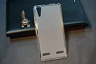 Чехол бампер силиконовый Lenovo A6000 A6010 Pro K3 K30 цвет белый
