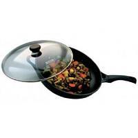 Сковорода-wok с крышкой Vinzer Cast Form  89404
