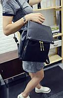 Женский рюкзак городской черный