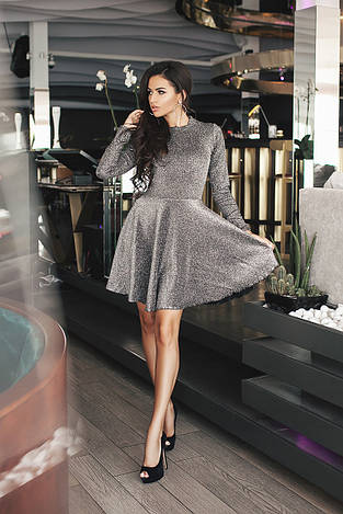 Коктейльное платье 3587