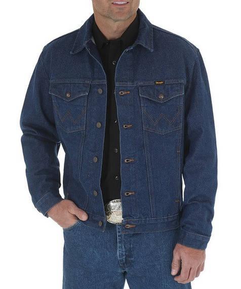 Джинсовая куртка Wrangler Western - Denim