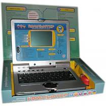 Детский обучающий ноутбук 7023 Рус.-Укр.-Англ. с мышкой, фото 3