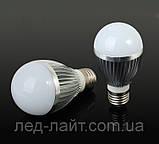 Лампа светодиодная Е27 5Вт 6400K 220V, фото 2