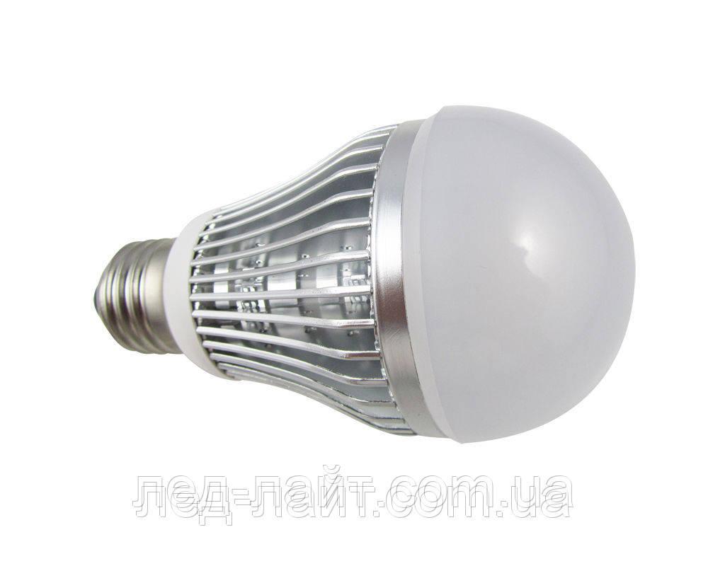 Лампа светодиодная Е27 5Вт 6400K 220V