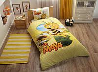 Детское подростковое постельное белье TAC Disney Ari Maya Daisy Ранфорс