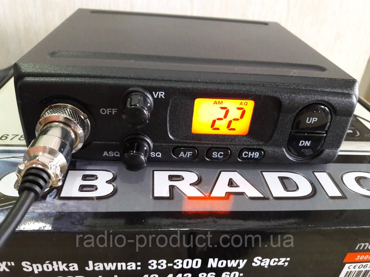 Merx Symfonia 300M (Megajet MJ-300) Си-Би радиостанция 27 МГц