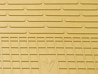 Коврики резиновые в салон Мерседес Бенц w204 C 2007- Комплект из 4-х ковриков Бежевый в салон. Доставка по всей Украине. Оплата при получении