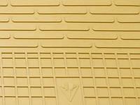 Резиновые коврики Stingray Стингрей Мерседес Бенц w204 C 2007- Комплект из 4-х ковриков Бежевый в салон. Доставка по всей Украине. Оплата при