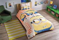Детское подростковое постельное белье TAC Disney Minions Bello Ранфорс