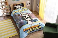 Детское подростковое постельное белье TAC Disney Penguins Party Ранфорс