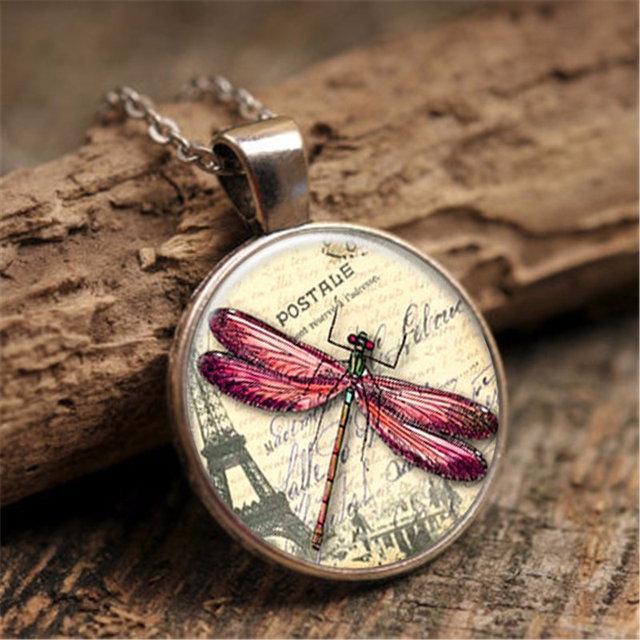 Подарочный кулон женский Стрекоза, фото 1