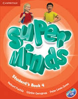 Super Minds Level 4 Student's Book with DVD-ROM including Lessons Plus for Ukraine