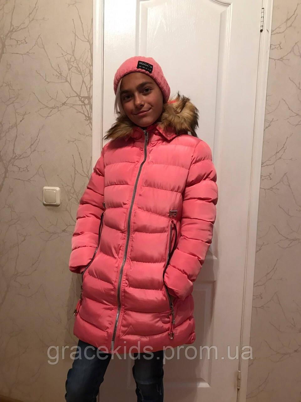 ae3c4b8a75eb Зимние куртки для девочек подростковые GRACE - Glo-story.детская одежда  оптом из Венгрии