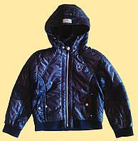 Куртка детская,серая, на мальчика, р.134, 146, 152, 158см