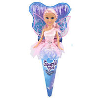 Кукла Ледяная фея Оливия в голубом платье 25 см Funville (FV24008-2)