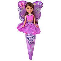 Кукла Волшебная фея Натали в лиловом платье с лиловыми крыльями 25 см Funville (FV24110-2)