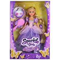 Кукла Принцесса Рапунцель в фиолетовом платье 25см Funville (FV24455-2)