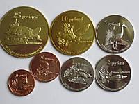 Татарстан 7 монет 2013 фауна