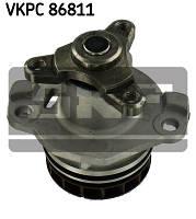 Водяной насос (помпа) на Renault Master III (FWD) 2010-> 2.3dCi  — SKF (Швеция) - VKPC 86811