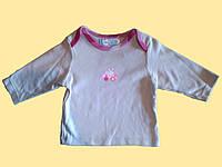 """Кофточка для новорожденной трикотажная, с длинным рукавом, """"Зайка"""""""