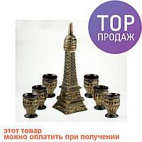 Винный набор Эйфелева башня / оригинальный графин