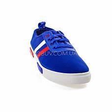 Кеды голубые на шнурках 2209-6, фото 3