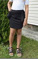 Школьная юбка с баской 32