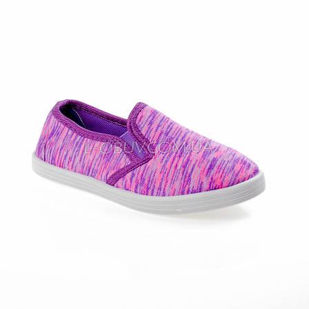 Кеды фиолетовые 208-12, фото 2