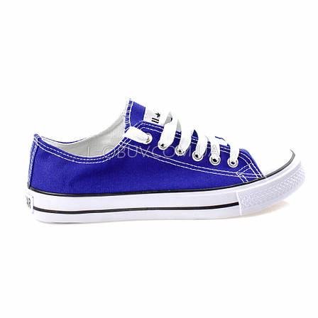 Кеды фиолетовые типа converse 2213-12, фото 2