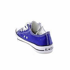 Кеды фиолетовые типа converse 2213-12, фото 3