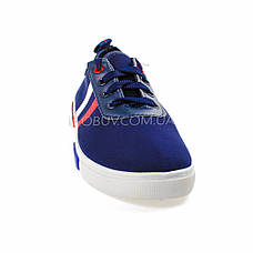 Кеды синие на шнурках 2209-9, фото 3