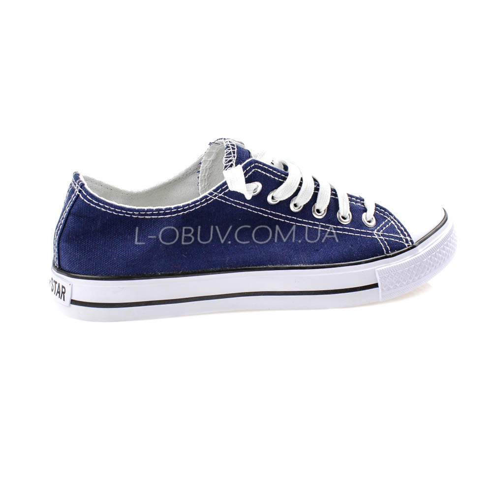 Кеды синие типа converse 2213-9