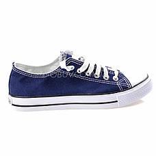Кеды синие типа converse 2213-9, фото 2