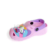 Кроксы Hello Kitty розовые 114-3, фото 2