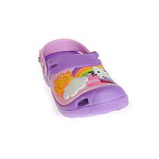 Кроксы Hello Kitty фиолетовые 114-12, фото 3