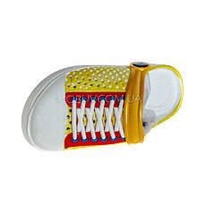 Кроксы кеды желтые 117-16, фото 3