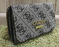 Кошелек женский брендовый Гесс Guess серый