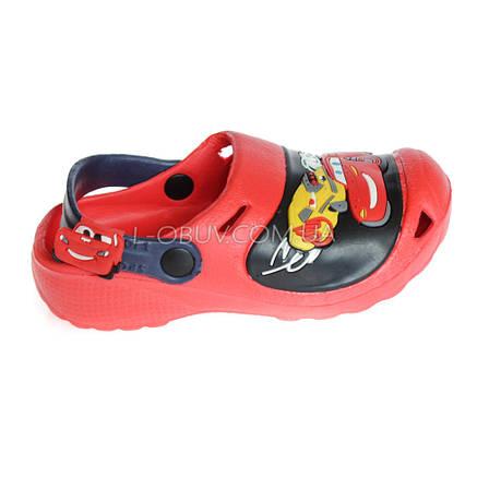 Кроксы Маквин красные 113-7, фото 2