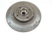 Тормозной диск Рено Меган 2. Задний 8 мм. 8671018107. Б.У