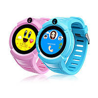 Детские умные часы телефон трекер Smart Baby Watch Q360. Камера+фонарик.