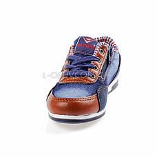 Кроссовки джинсовые синие 211-9, фото 3