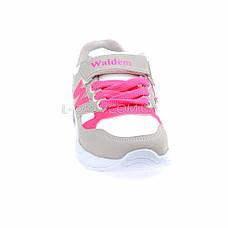 Кросівки біло-сірі 225-8, фото 2