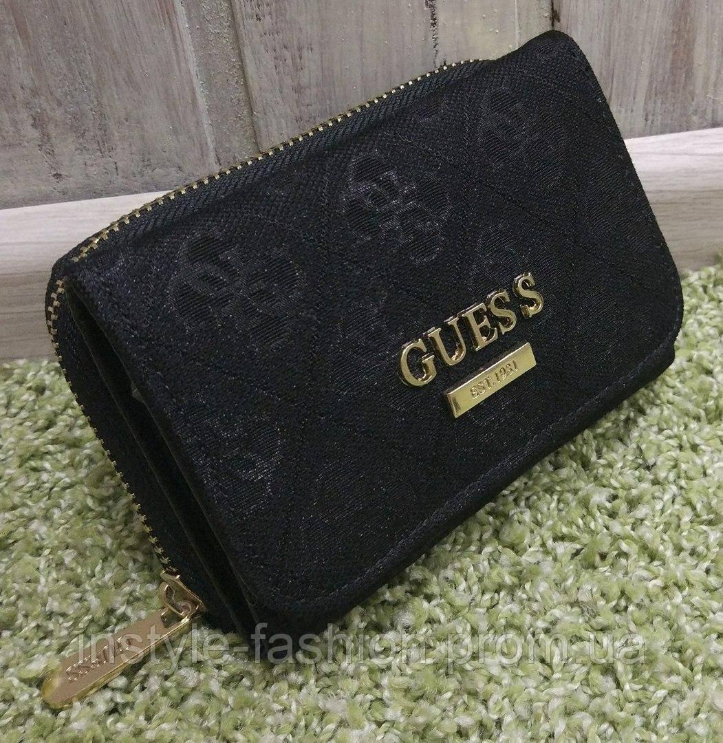 6e823e88cdec Кошелек женский брендовый Гесс Guess черный: купить недорого копия ...