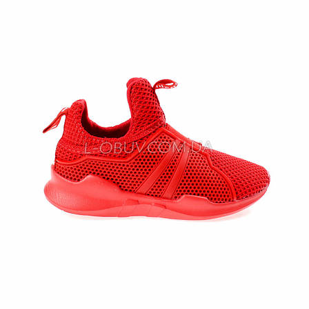 Кроссовки красные 210-7, фото 2