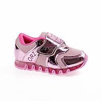 Кроссовки с сеткой розовые легкие и яркие 902-3