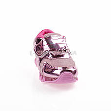 Кроссовки с сеткой розовые легкие и яркие 902-3, фото 3