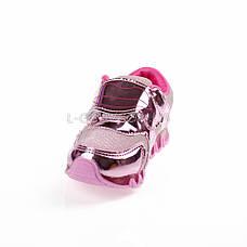 Кроссовки с сеткой розовые легкие и яркие 902-3, фото 2