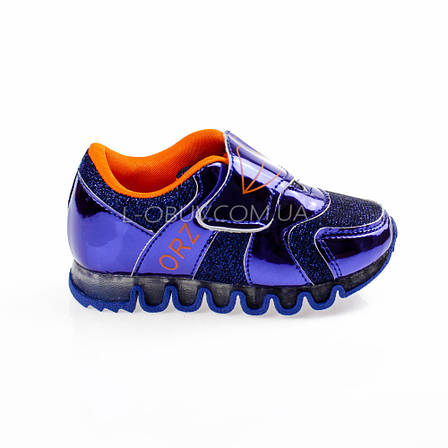 Кроссовки с сеткой синие легкие и яркие 902-9, фото 2